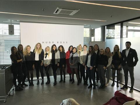Faszination Fashion – ISMler besuchen HUGO BOSS - ISM